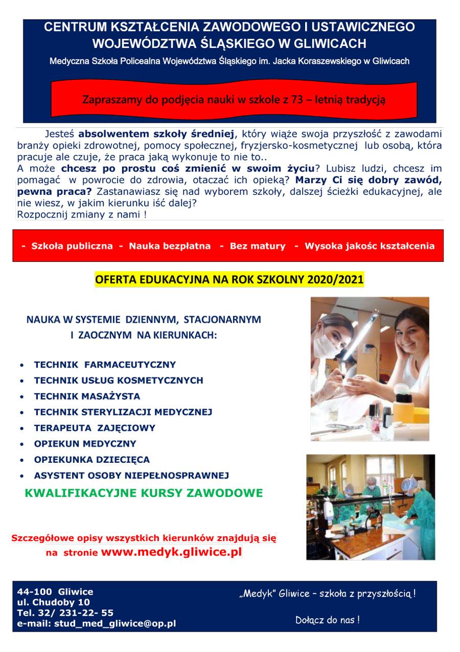 plakat medyk gliwice