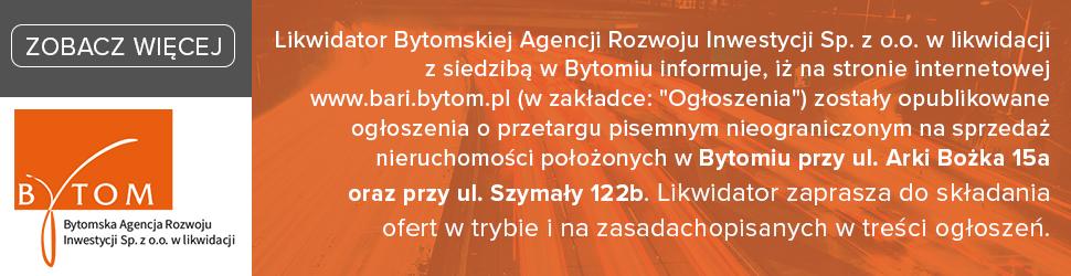 Bytomska Agencja Rozwoju Inwestycji Sp. z o.o. w likwidacji
